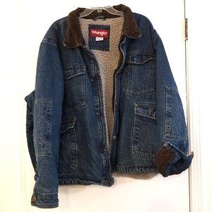 Vintage Wrangler Hero Denim Jacket 3XL